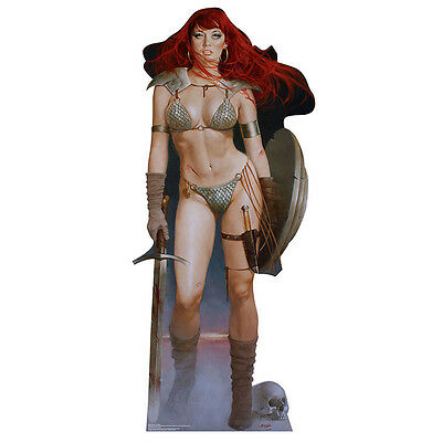 RED SONJA Marvel She-Devil with a Sword CARDBOARD CUTOUT Standee Standup Poster