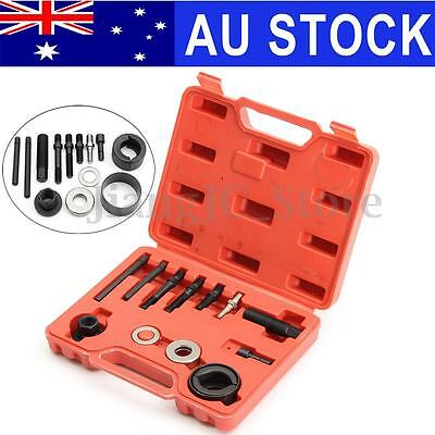 12Pcs Auto Car Power Steering Alternator Pulley Puller Remover Removal Tool Kit