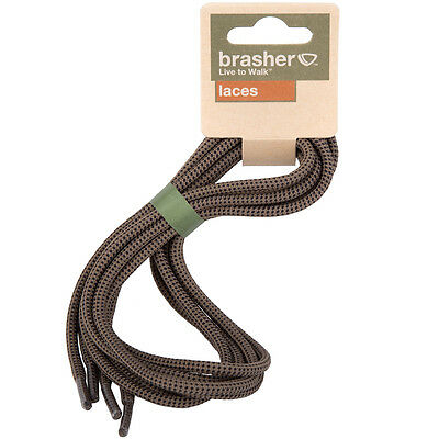 Brasher Walking Hiking Boot/Shoe Replacement Laces - Brown/Black 140cm