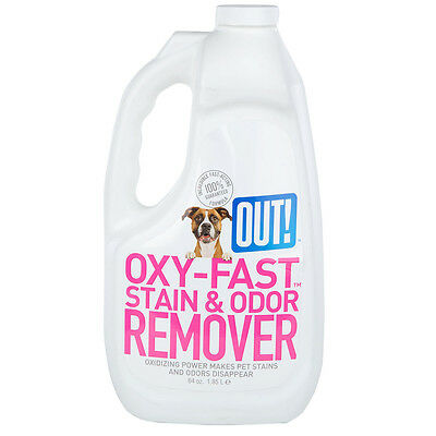 OUT! Oxy-Fast Stain & Odour Remover - Pet - Liquid Cleaner 1.85Litres