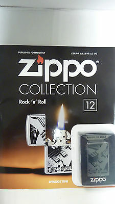 Genuine ROCK N ROLL Lighter with magazine