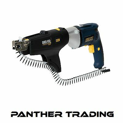 GMC 550W Auto Feed Drywall Screwdriver 14NM Torque With Trigger Control - 320784