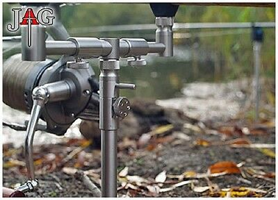 Jag NEW 2 Rod Adjustable Fishing Buzz Bar Front and Rear