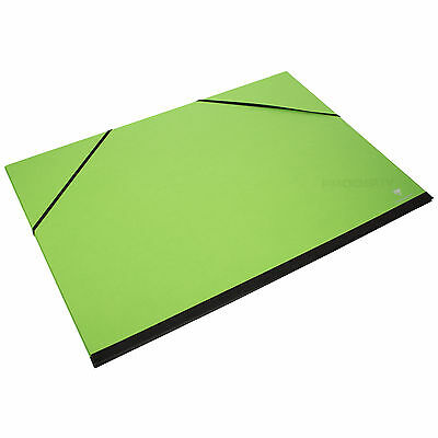 A3 Art Portfolio Elastic Strap Colour Card Folder Artists Paper Storage Case