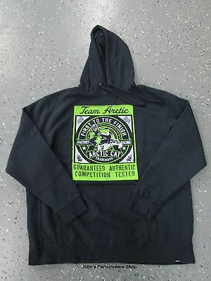 Vintage Wash Team Arctic Cat Factory Racing Hoodie L 2X 5279-404 5279-408
