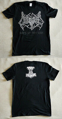 "Unleashed official T-shirt ""Dawn of the nine"" black (M,L) NEW"