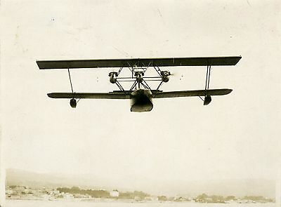 """Hydravion METEORE Appareil de Transport Public 1926"" Photo originale S.P.C.A."