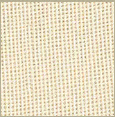 Zweigart 27 count evenweave for cross stitch - 50 cms x 47 cms