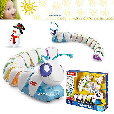 Fisher-Price Think & Learn Code a Pillar Caterpillar Toy 3+ Toddler Christmas 16