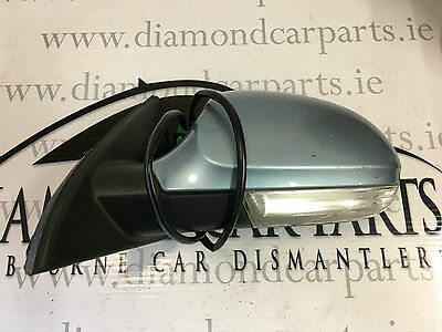 2006 Vw Passat B6 Left Passenger Side Wing Mirror 3C0857933