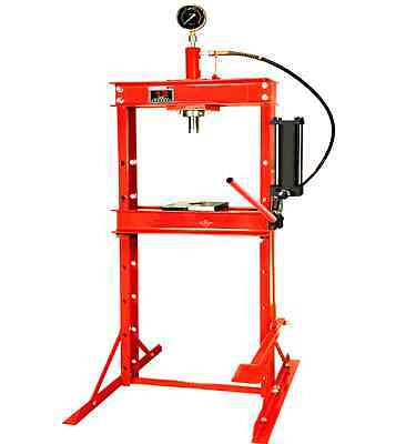 New Hydraulic Workshop Garage Shop Floor Standing Press 12 Ton With Foot Pedal
