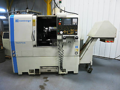 Hardinge Talent 6/45 2-Axis Cnc Turning Center Lathe