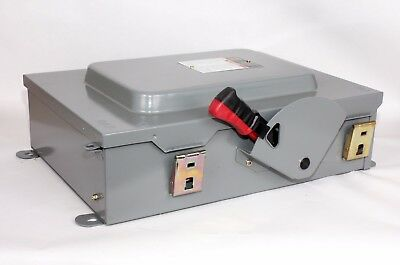 Square D HU661AWK  30A, 600V, Non-Fusible, Heavy Duty Safety Switch