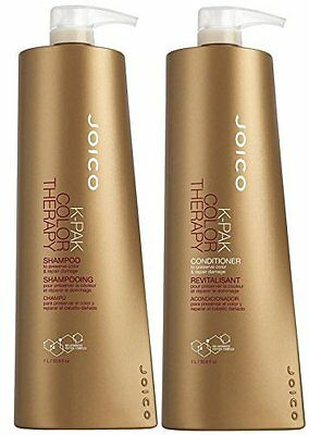 Joico K Pak Color Therapy Shampoo & Conditioner Liter Size Duo (NO PUMPS)