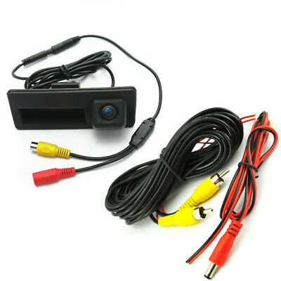 Trunk Handle CCD Rear View Parking Camera For Audi A3 A5 A6 A7 Q3 Q7 S6 S7