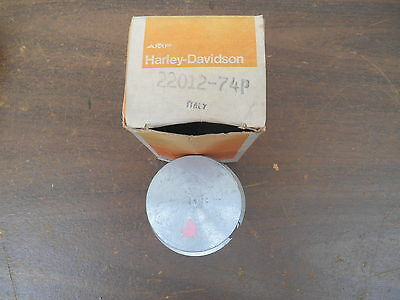 NOS OEM Harley-Davidson Aermacchi 22012-74P 175cc Piston KIT Pink Dot 61mm STD