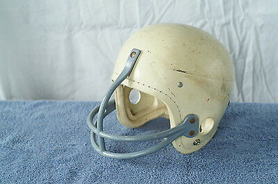 Vintage Geo A Reach Co. Sports Face Mask Football Helmet White Plastic 66 - 7