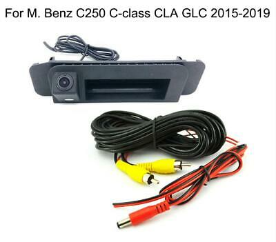 Trunk Handle + Reverse Parking Camera For M. Benz C-class CLA GLC C250 2015-2018