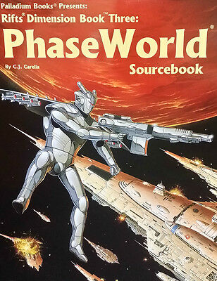 Rifts RPG: Dimension Book 3 Phase World Sourcebook PAL 0817