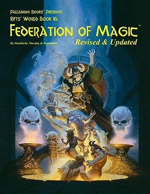 Rifts RPG: World Book 16 Federation of Magic PAL 0829