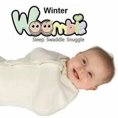 Customer Returned Woombie Winter Fleece Baby Swaddle ~ Choose Size & Color