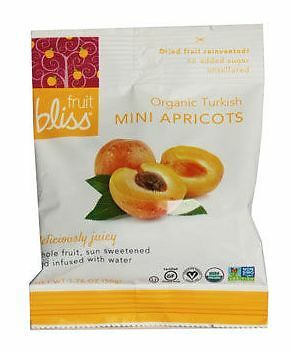 Fruit Bliss Organic Dried Apricots Minis 50g