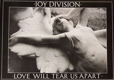 """JOY DIVISION """"Love Will Tear Us Apart"""" 36x24 HIGH QUALITY MUSIC POSTER"""