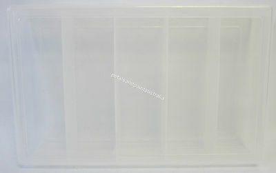New Craft Organiser Container With 5 Compartments for Beading, Craft & Jewellery