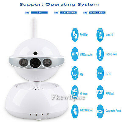 Night Vision Wireless Wifi IP Camera Waterproof Outdoor Cam P2P Security System