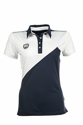 Polo Shirt -Global Team- by HKM - 5470 RRP $69.95 in Deep Blue