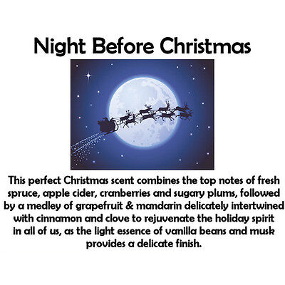 NIGHT BEFORE CHRISTMAS Fragrance Oil for Candles, Soaps, Melts - 10ml to 1L