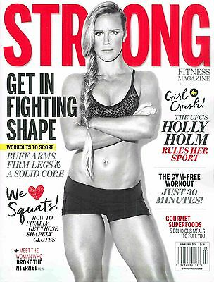 Strong Magazine Holly Holm March/April 2016 NO LABEL Newstand