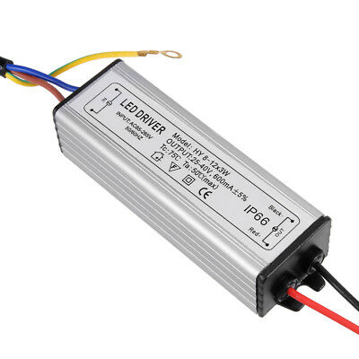 AC 85-265V to DC 25-40V 600mA IP66 8-12x3W LED Lightstrip Power Supply Driver