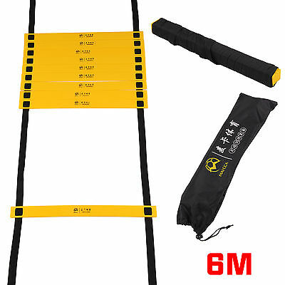 Speed Agility Fitness Training Ladder Footwork Football 6-Metre 12-rung Soccer