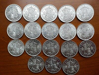 George VI Half Crown - 1937 to 1946 Better Grades - choose your date