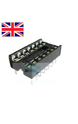 New 14 Pin DIP IC Socket Adapter Solder Type - High Quality Free Postage