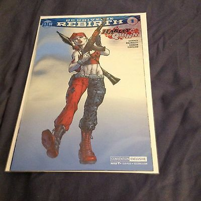 Harley Quinn # 1 (Foil Cover, New York Comic Con 2016 Exclusive Variant), Nm