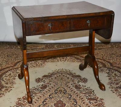 Antique George II Burr Walnut Sofa Table - FREE Delivery [PL2551]