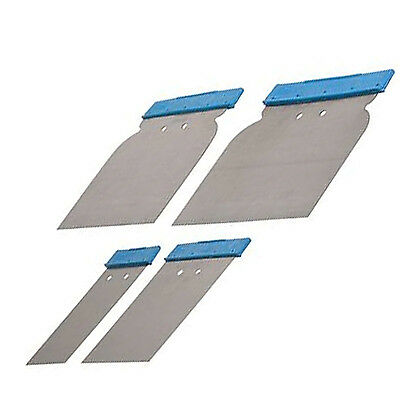 Silverline Body Filler Application Set 4pce Tool Putty Spreader Vehicle Car