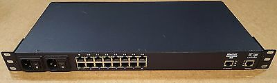 Cyclades AlterPath ACS16 16-Port Advanced Console Server Dual Power Supply