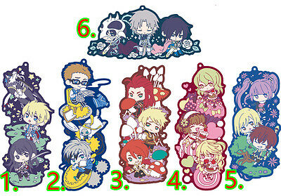 Tales of Vesperia Xillia  Abyss Graces Rubber Strap Keychain Charm Long Piece