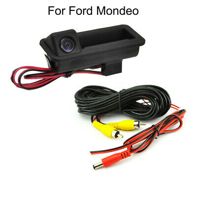 Car Trunk Handle CCD Rear View Parking Camera For Ford Mondeo 2010-2017 2018