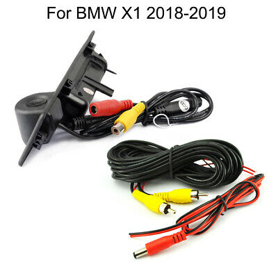 Car Trunk Handle and CCD Reverse Parking Camera For BMW X1 2018-2019