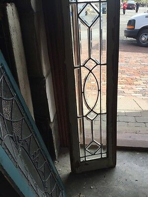 Sg 870 Antique All Beveled Glass Transom Window
