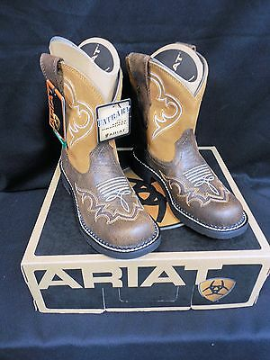 Ariat Fatbaby Heritage Harmony Women's Western Boots, Bomber Tan!  New!