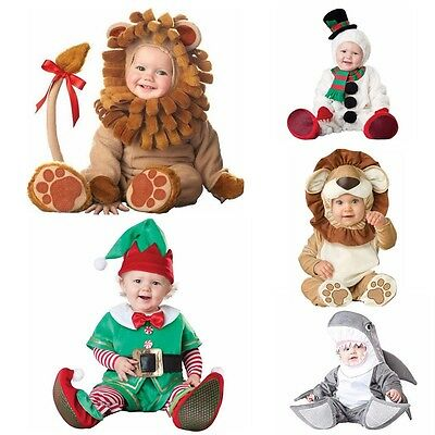 Baby Newborn Lovable Animal  Xmas Carnival Fancy Dress Costume Outfit