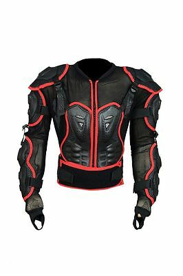 Foxy Body Armour Motorcycle Motorbike Motocross Protector Guard Jacket Adult bW