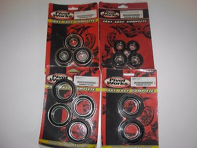 Pivot Works Wheel Bearing Kits , 4 Various , see listing , NOS