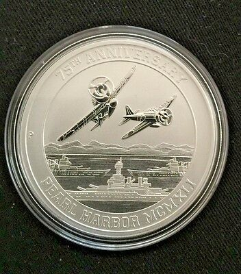 75th ANNIVERSARY  of Pearl Harbor 9999+1gr gold- free