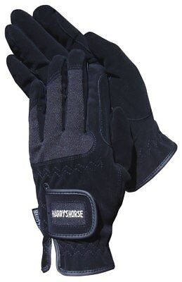 Mesh Domy Glove by Harry's Horse in BLACK, WHITE